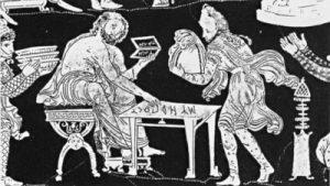 Scène du «vase des Perses»
